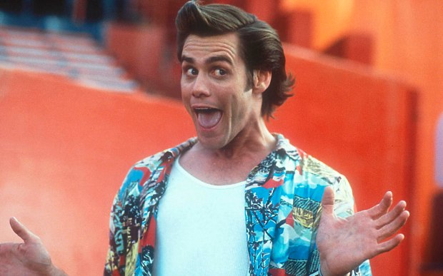 Ace Ventura Pet Detective Jim Carrey ©Morgan Creek Productions
