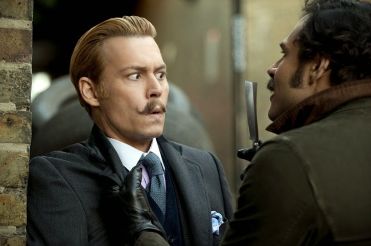 Mortdecai Film Johnny Depp